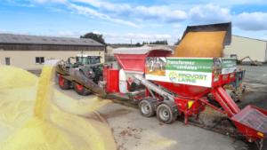 Prestation broyage maïs humide et céréales