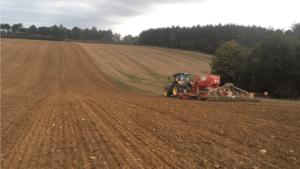 Prestations semis de couverts